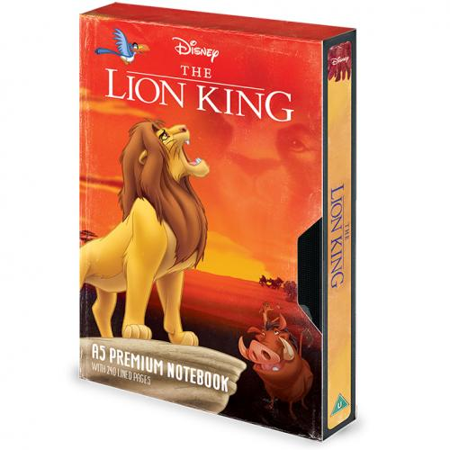 LE ROI LION - VHS Circe of Life - Notebook A5 Premium
