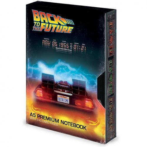 RETOUR VERS LE FUTUR - VHS Great Scott - Notebook A5 Premium