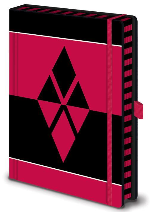 HARLEY QUINN - I Am Crazy For You - Notebook A5 Premium_1