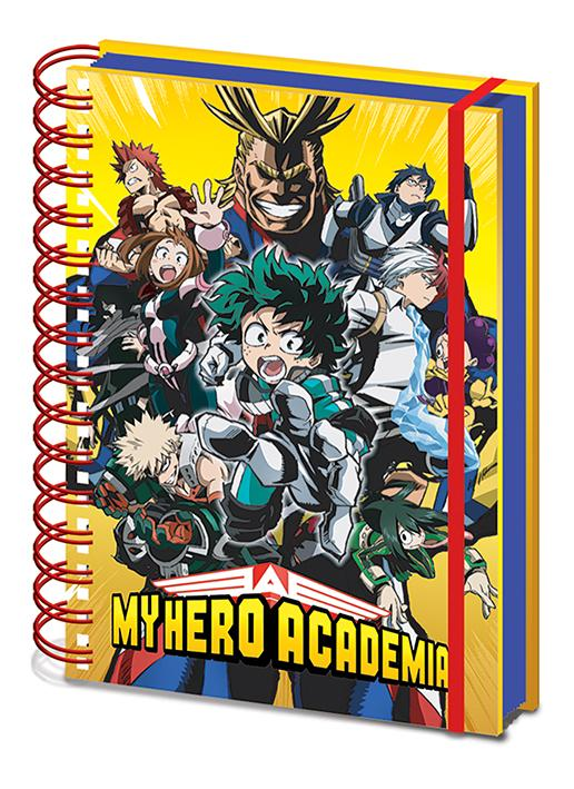 MY HERO ACADEMIA - Characters - Notebook A5_1
