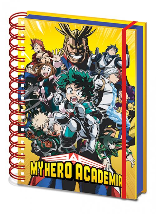 MY HERO ACADEMIA - Characters - Notebook A5