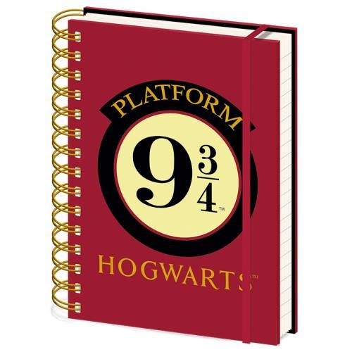 HARRY POTTER - Platform 9 3/4 - Notebook A5