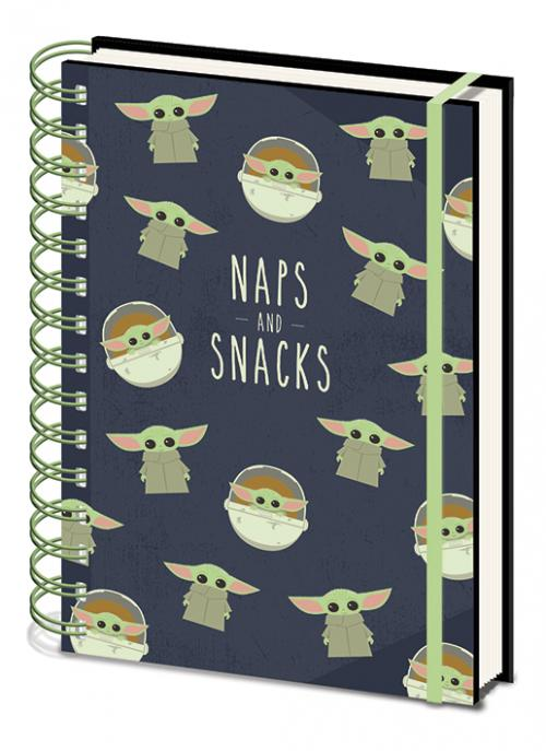 STAR WARS - Snacks and Naps - Notebook A5