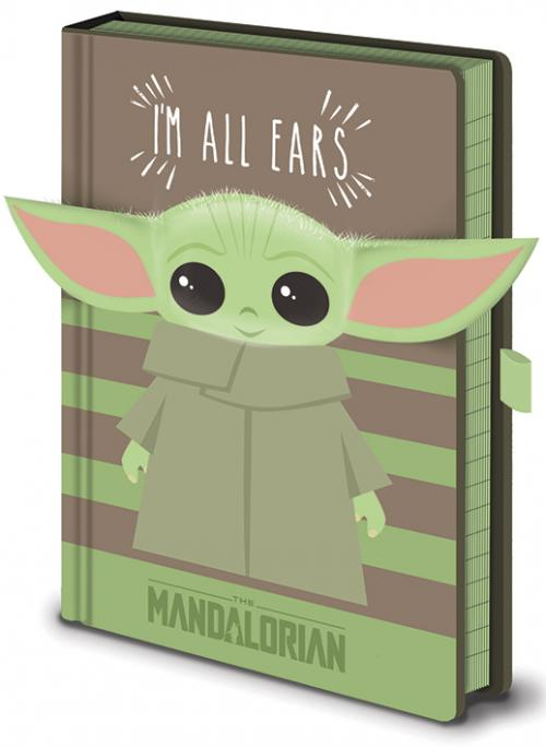 STAR WARS - I'm All Ears Green - Notebook A5 Premium