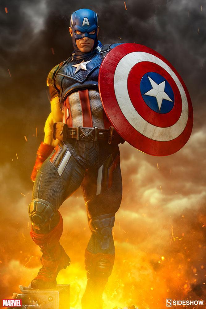 MARVEL - Captain America Premium Format Figure - 54cm