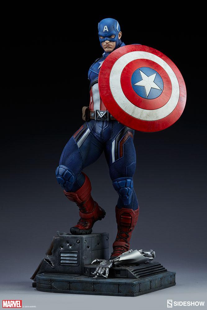 MARVEL - Captain America Premium Format Figure - 54cm_3