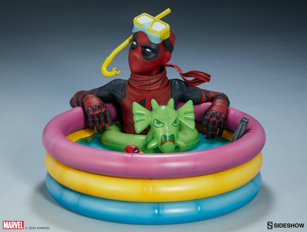 MARVEL - Deadpool Kidpool Premium Statue