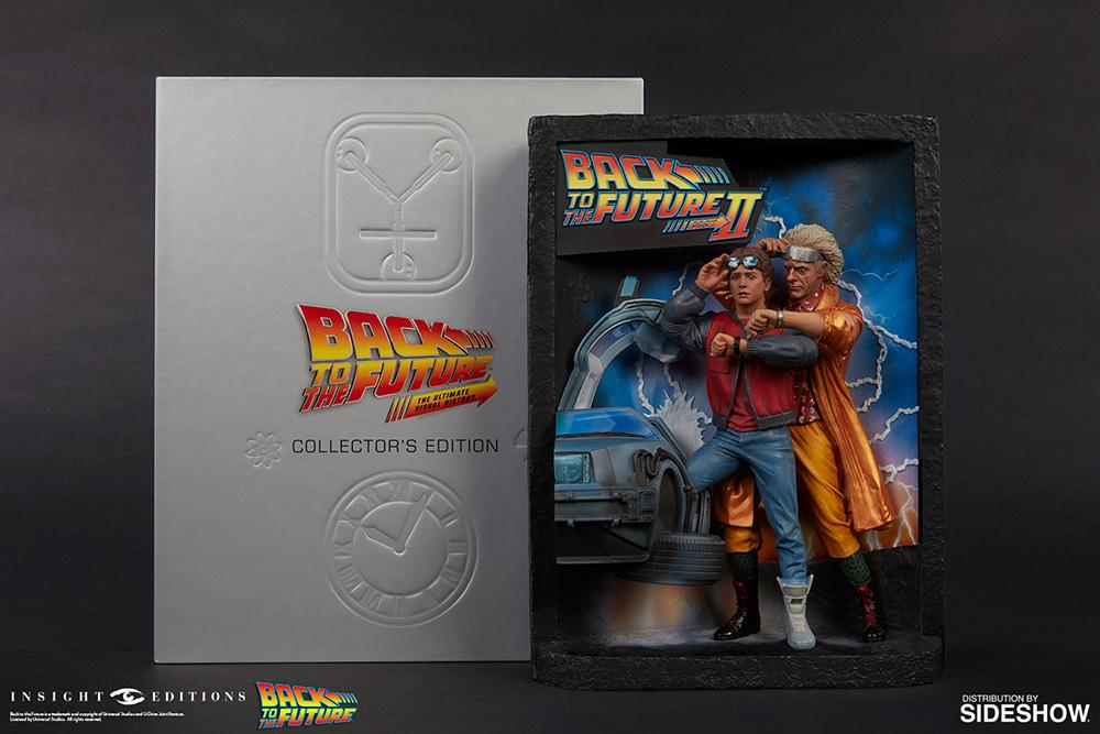 BACK TO THE FUTURE - Sculpted Movie Poster & History Book Collector