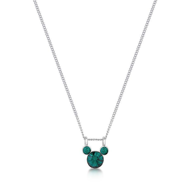 DISNEY MICKEY MOUSE - Birthstone Necklace - May