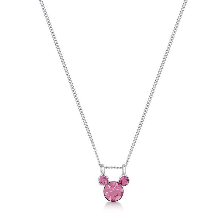 DISNEY MICKEY MOUSE - Birthstone Necklace - October