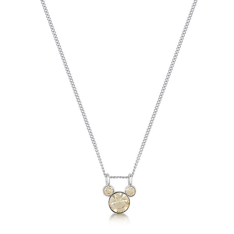 DISNEY MICKEY MOUSE - Birthstone Necklace - November
