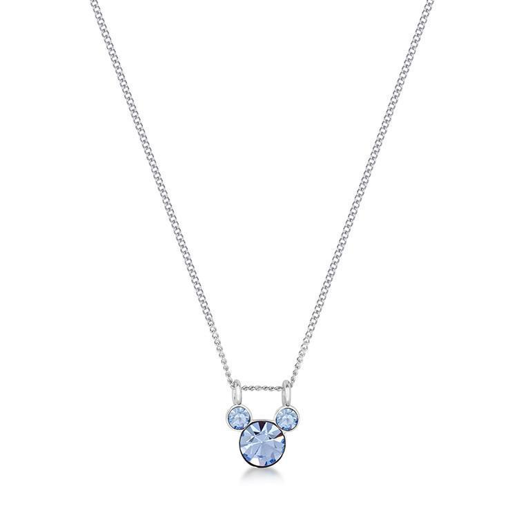DISNEY MICKEY MOUSE - Birthstone Necklace - December