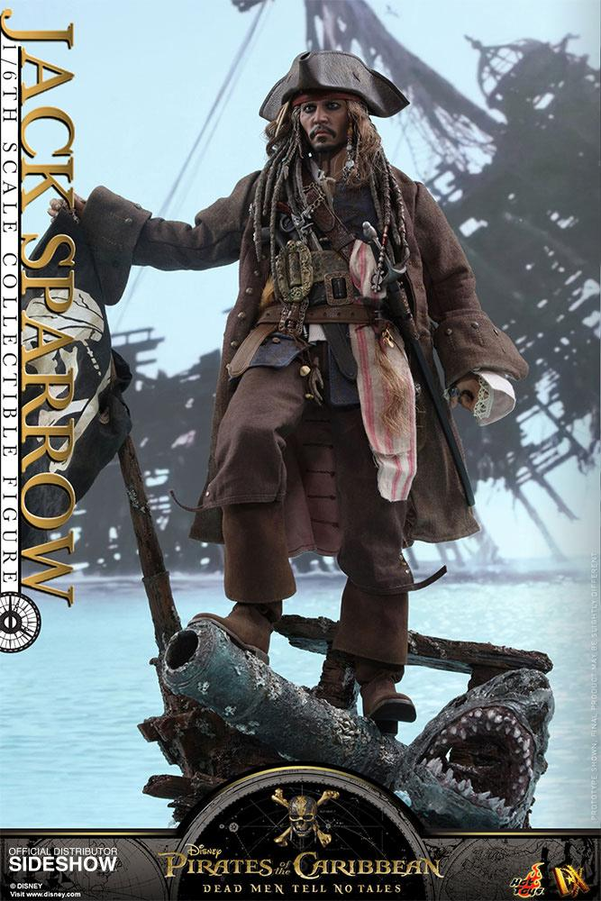 POTC DEAD MEN NO TALES - 1/6 Scale Figure - Jack Sparrow  - 35cm