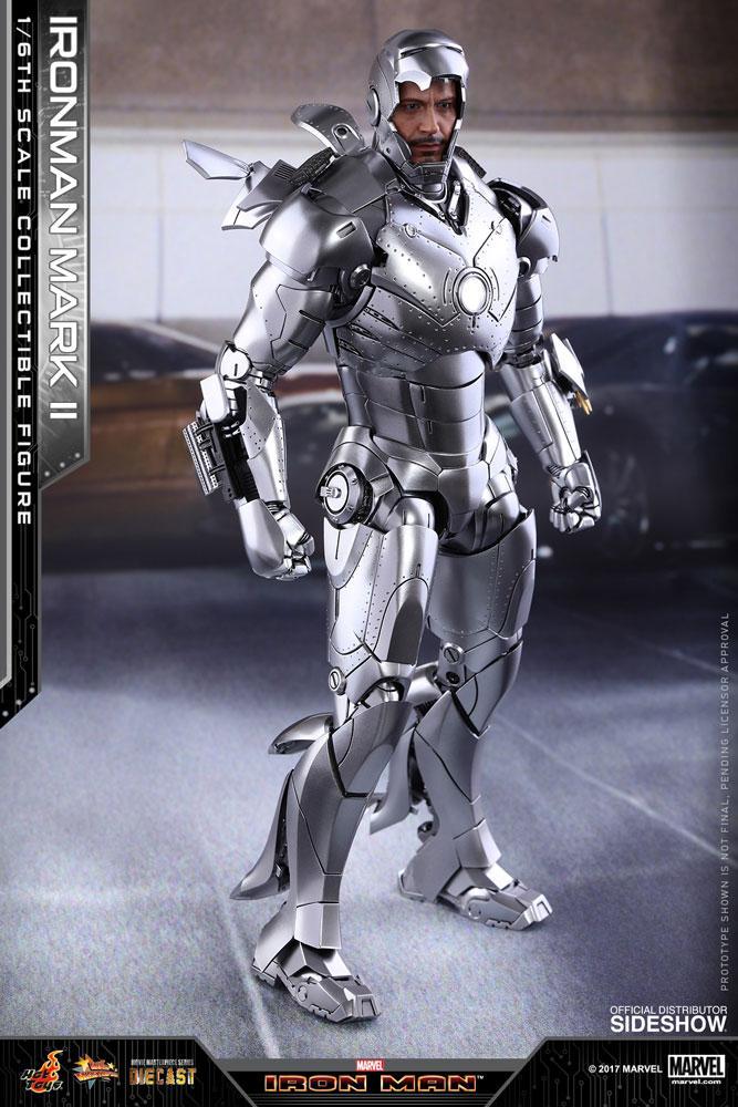 MARVEL - Iron Man Mark II Figure Movie Masterpiece Diecast - 30Cm