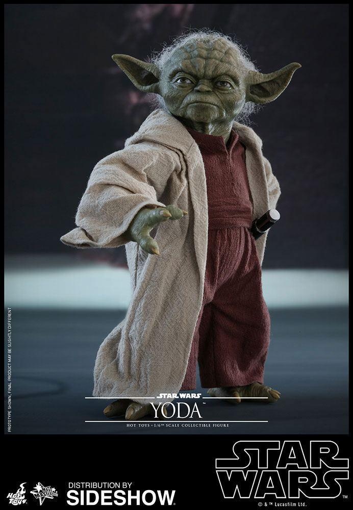 STAR WARS - Episode II - Figurine Movie Masterpiece 1/6 - Yoda - 14cm