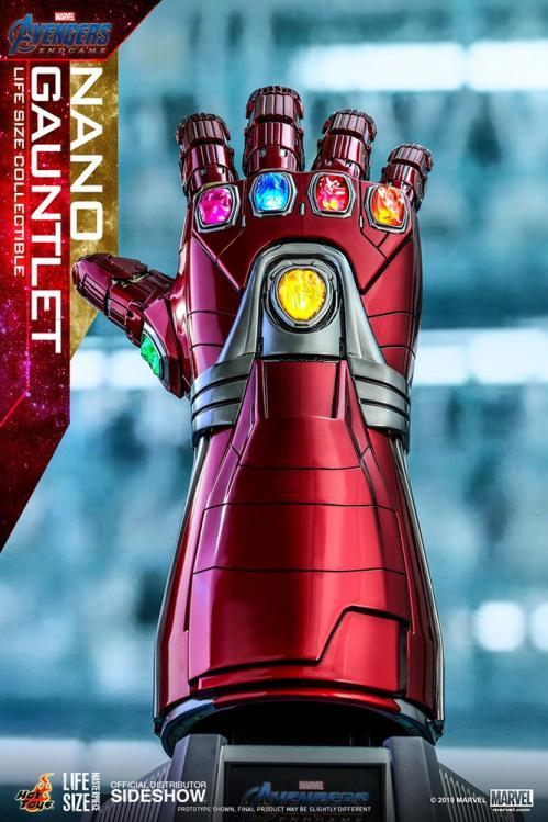 AVENGERS ENDGAMES - Nano Gauntlet Life-Size Replica - 52cm