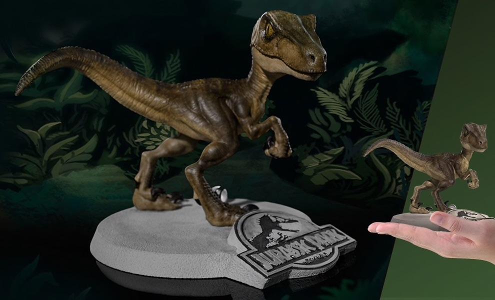 JURASSIC PARK - Velociraptor Mini Co. Figure