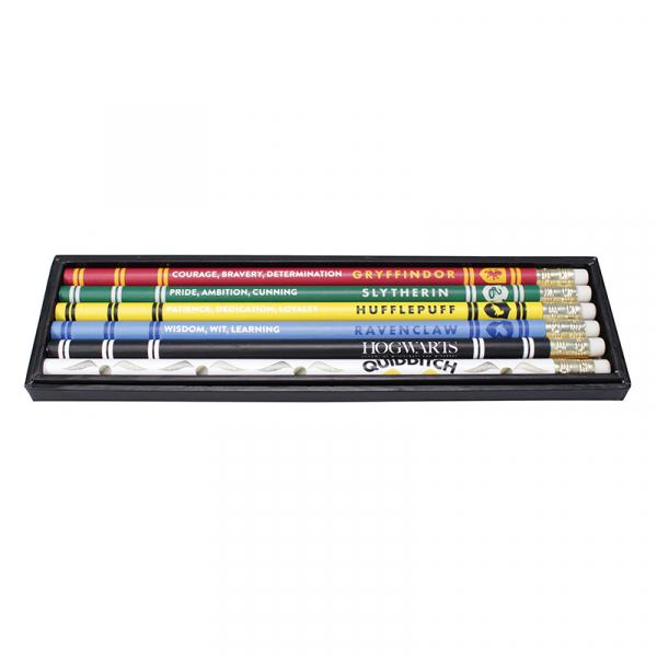 HARRY POTTER - Pencils Set of 6 - House Pride