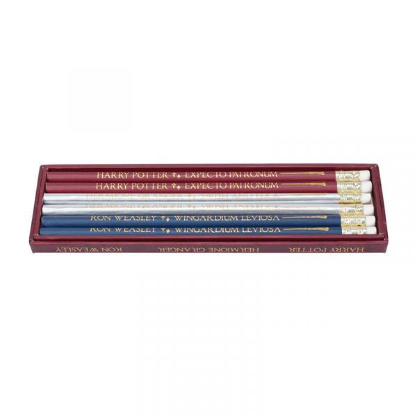 HARRY POTTER - Pencils Set of 6 - Wands