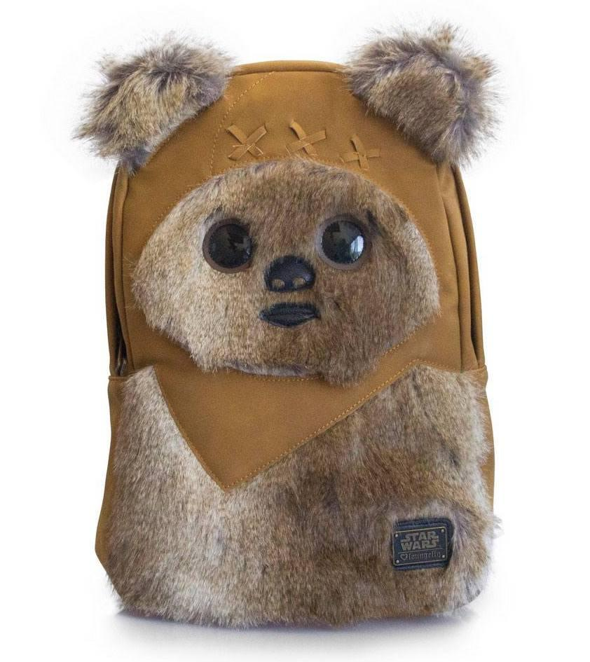 STAR WARS - Ewok 3D Backpack 'LoungeFly'