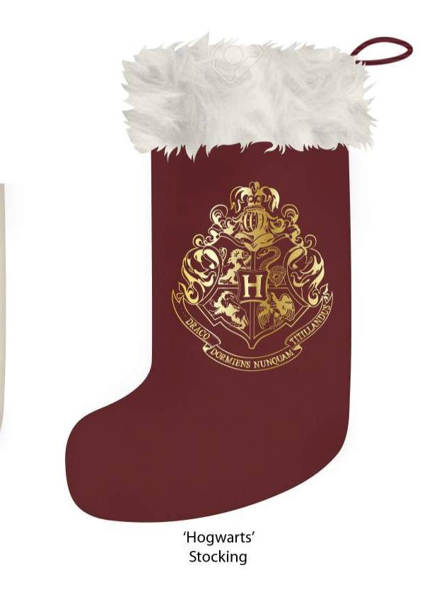 HARRY POTTER - Christmas Stocking - Hogwarts Crest