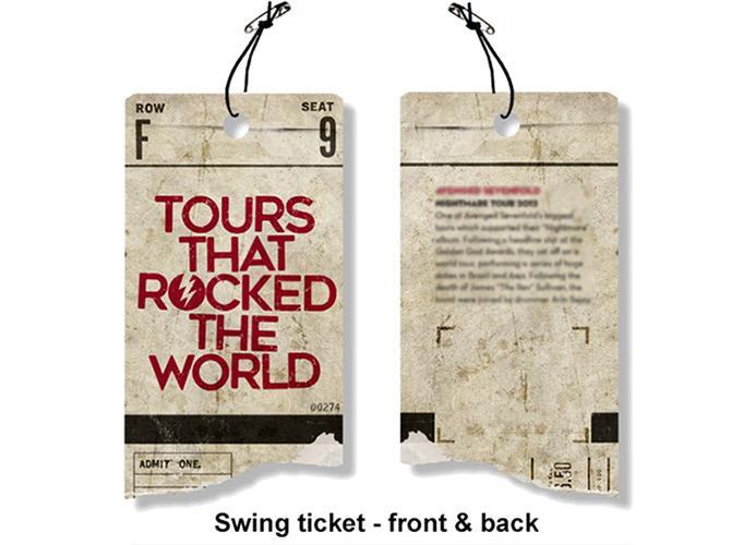 THE STONE ROSES - T-Shirt RWC - Lemon 1989 Tour (L)_3