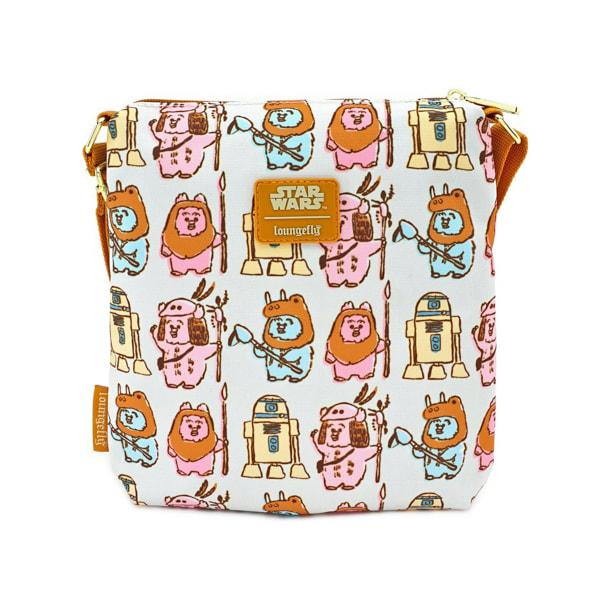 STAR WARS - Pastel Ewok Nylon Passport 'LoungeFly'