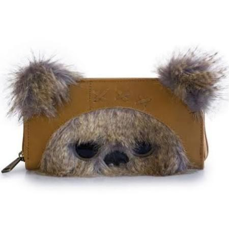 STAR WARS - Ewok 3D Ears Zip Around Wallet 'LoungeFly'