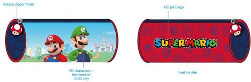 NINTENDO - Super Mario - Plumier/Trousse '22x8x8cm'