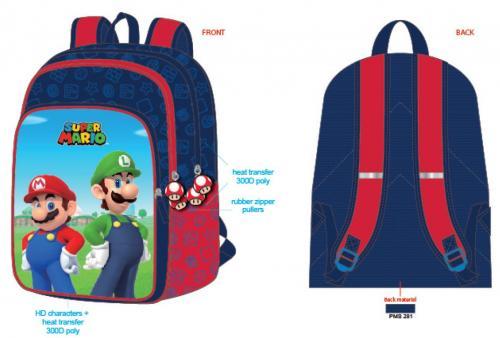 NINTENDO - Super Mario - Sac à dos '42x15x31cm'