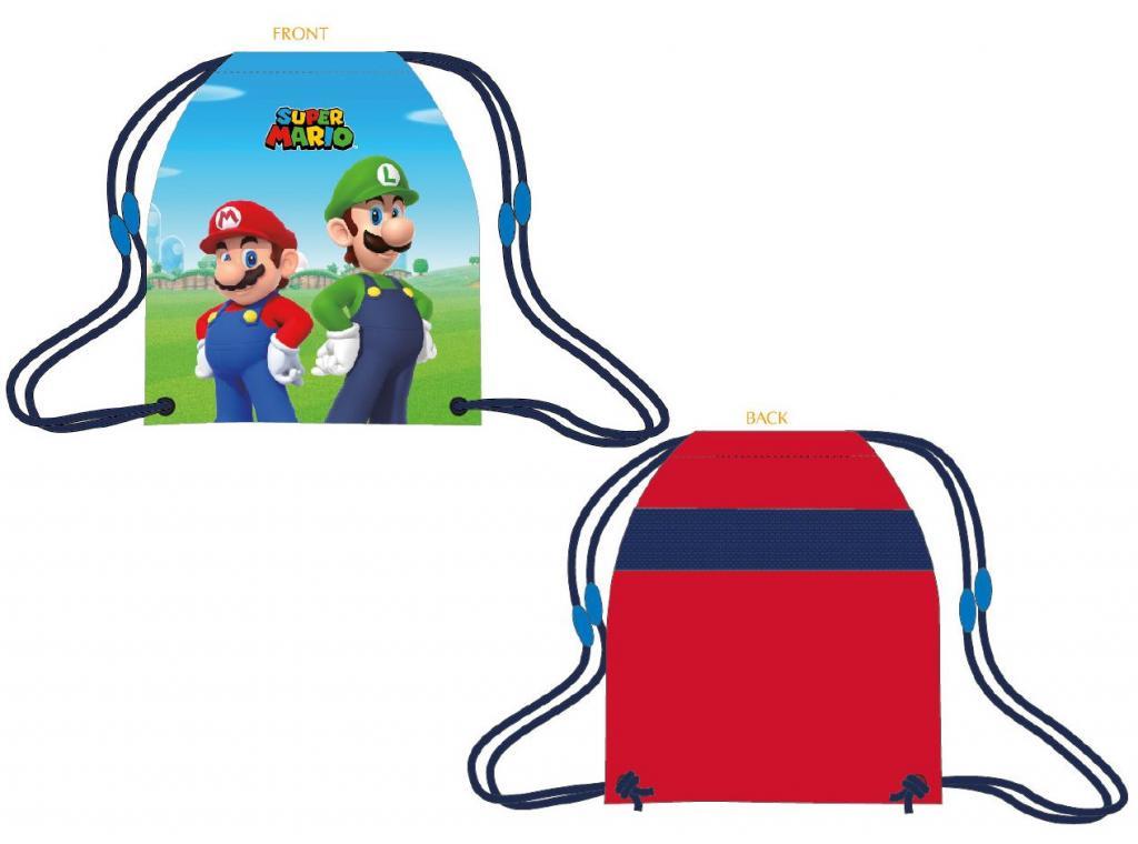 NINTENDO - Super Mario - Sac de gym/piscine/sport '32x41cm'_1