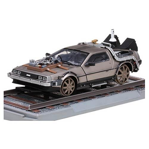 BACK TO THE FUTURE - Delorean Railroad 1/18