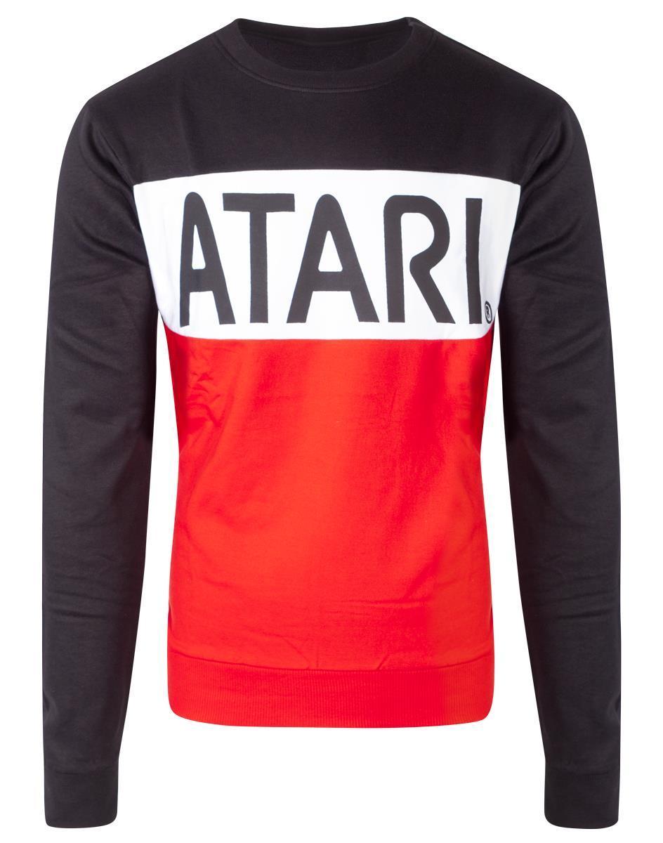 ATARI - CUT & SEW Sweatshirt Homme - (S)