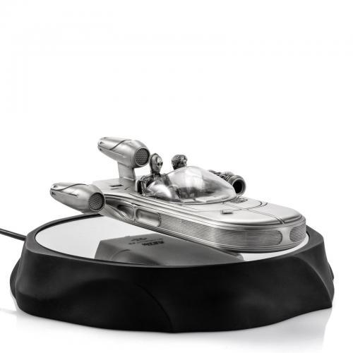 STAR WARS - Landspeeder - Figurine flottante magnétique en étain