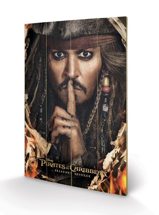 PIRATES OF THE CARIBBEAN - Impression sur Bois 40X59 - Keep A Secret