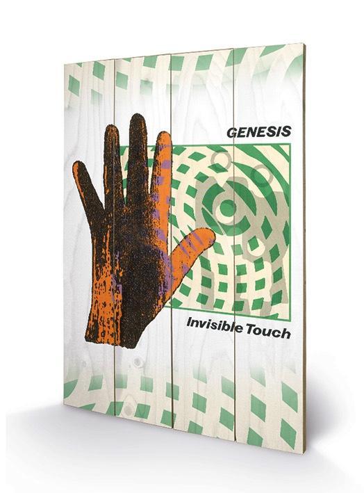 GENESIS - Impression sur Bois 40X59 - Invisble Touch