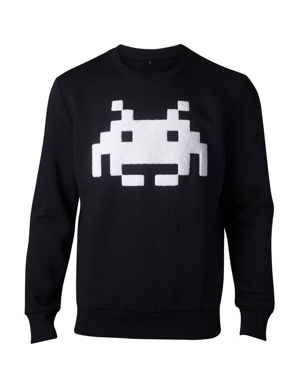 SPACE INVADERS - Sweatshirt Homme Chenille Invaders - (S)