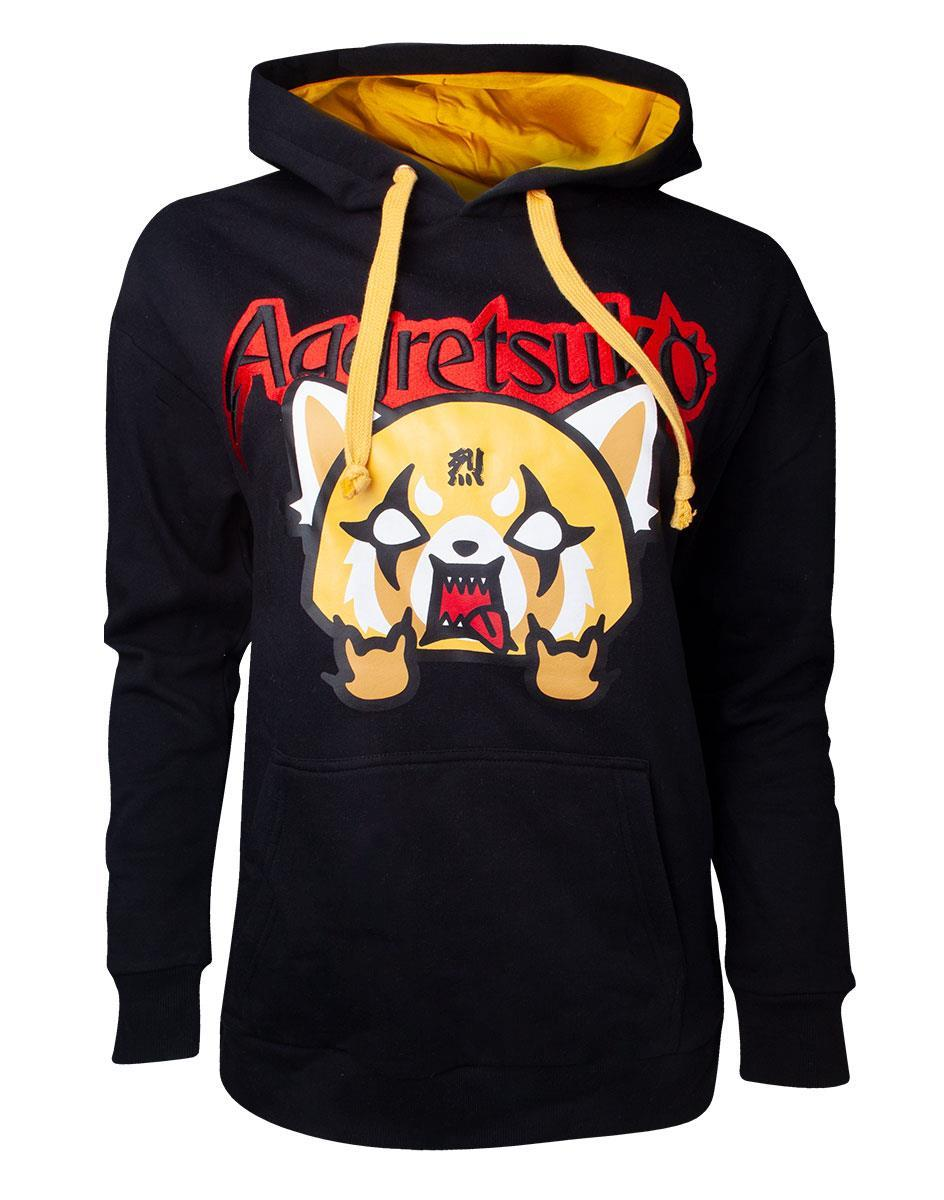 AGGRETSUKO - Aggretsuko Embroidered Women's Sweater (S)