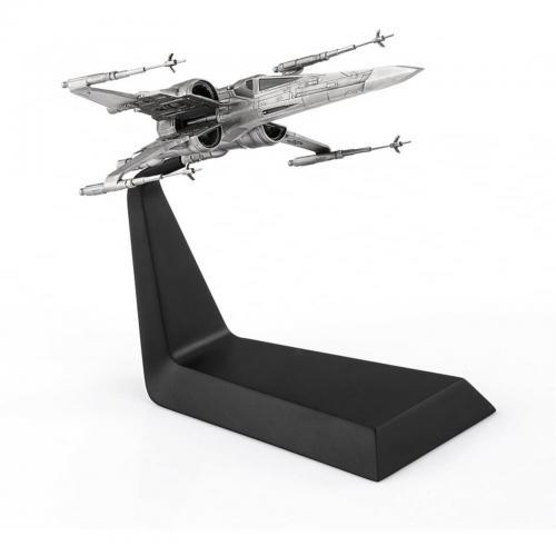STAR WARS - X-Wing - Figurine en étain sur socle