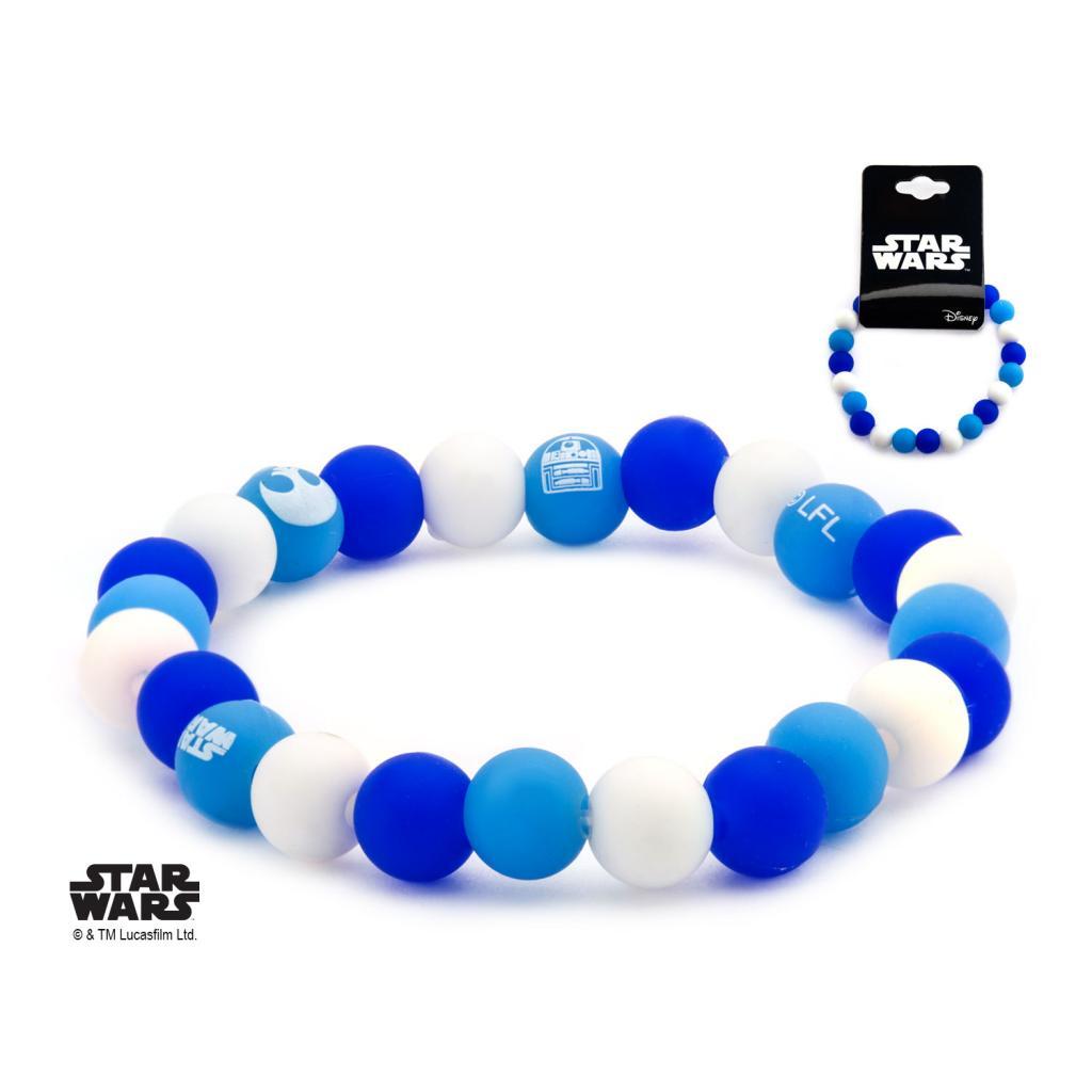 STAR WARS - Bracelet Perles R2D2