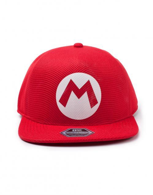 NINTENDO - Casquette Snapback - Super Mario Badge