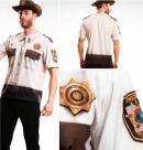 T-Shirt COSPLAY Theme WALKING DEAD - Sheriff (S)