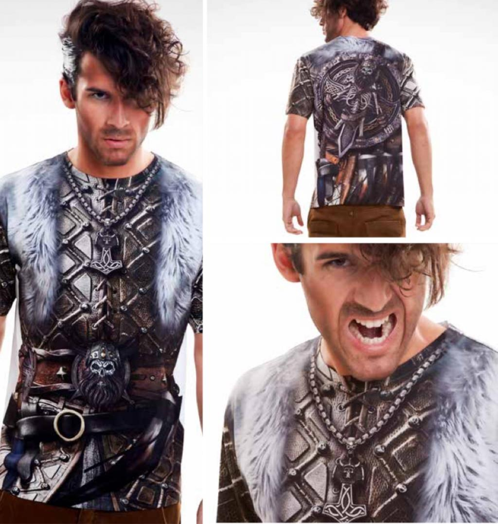 T-Shirt COSPLAY Theme VIKINGS - Boy (S)