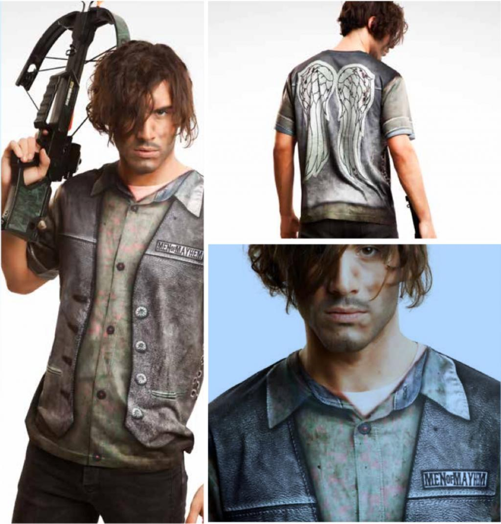 T-Shirt COSPLAY Theme WALKING DEAD - Daryl (S)