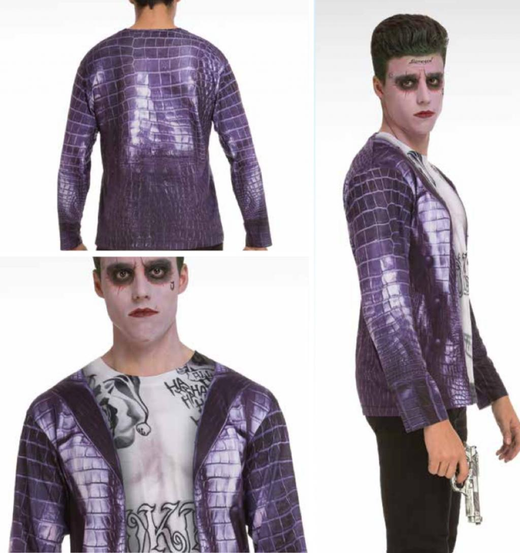 T-Shirt COSPLAY Theme SUICIDE SQUAD - Joker (S)