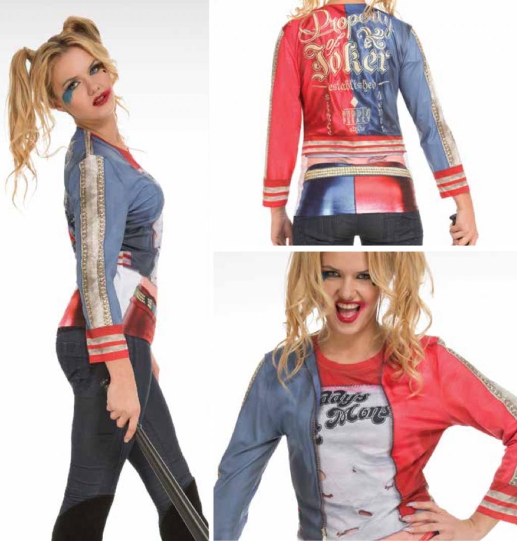 T-Shirt COSPLAY Theme DC COMICS - Harley Quinn - GIRL (S)