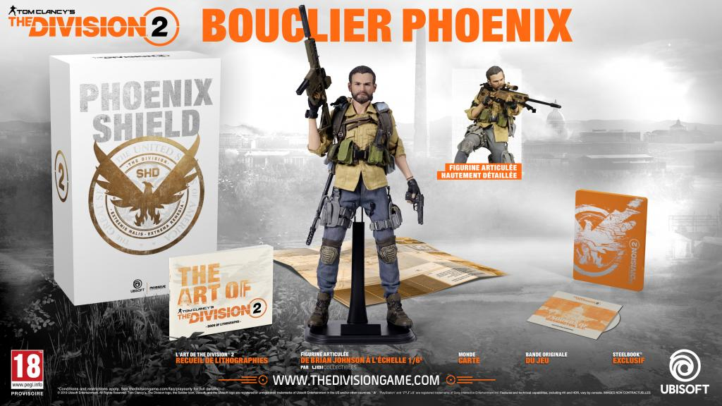 The Division 2- Phoenix Shield Collector Figurine