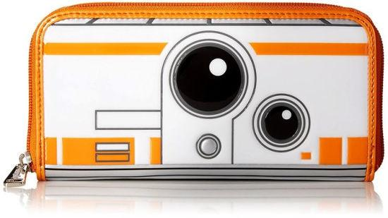 STAR WARS - BB8 Embossed Wallet 'LoungeFly'