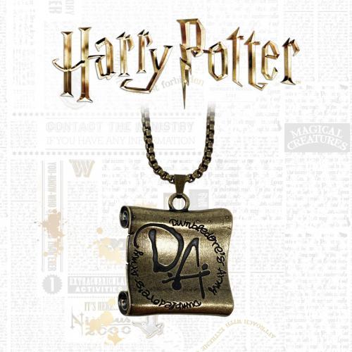HARRY POTTER - Dumdledore's Army - Collier unisex en édition limitée