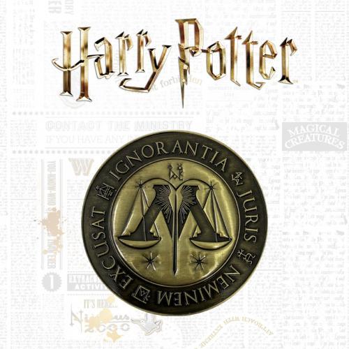 HARRY POTTER - Ministère de la Magie - Médaillon édition limitée